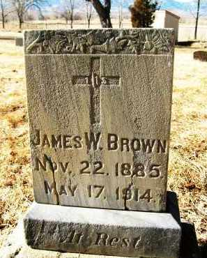 BROWN, JAMES W. - Boulder County, Colorado | JAMES W. BROWN - Colorado Gravestone Photos