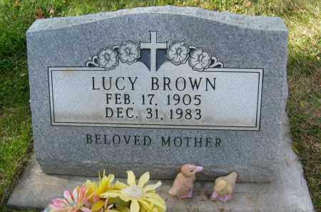 BROWN, LUCY - Boulder County, Colorado | LUCY BROWN - Colorado Gravestone Photos