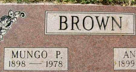 BROWN, MUNGO P. - Boulder County, Colorado | MUNGO P. BROWN - Colorado Gravestone Photos
