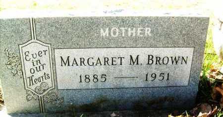 BROWN, MARGARET M. - Boulder County, Colorado | MARGARET M. BROWN - Colorado Gravestone Photos