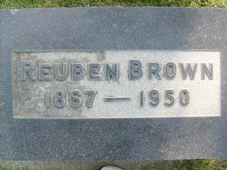 BROWN, REUBEN - Boulder County, Colorado | REUBEN BROWN - Colorado Gravestone Photos