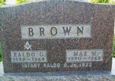 BROWN, MAE M. - Boulder County, Colorado | MAE M. BROWN - Colorado Gravestone Photos