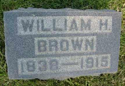 BROWN, WILLIAM H. - Boulder County, Colorado | WILLIAM H. BROWN - Colorado Gravestone Photos