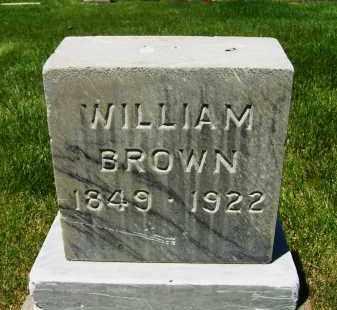 BROWN, WILLIAM - Boulder County, Colorado | WILLIAM BROWN - Colorado Gravestone Photos