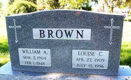 BROWN, LOUISE C. - Boulder County, Colorado | LOUISE C. BROWN - Colorado Gravestone Photos