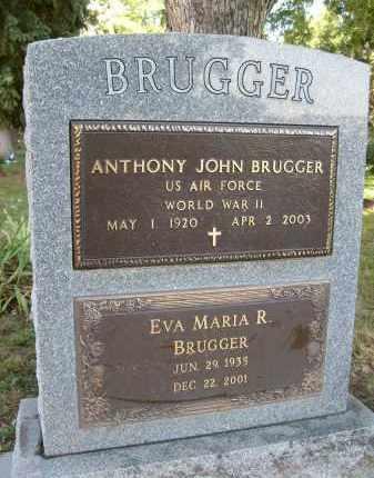 BRUGGER, EVA MARIA R. - Boulder County, Colorado   EVA MARIA R. BRUGGER - Colorado Gravestone Photos