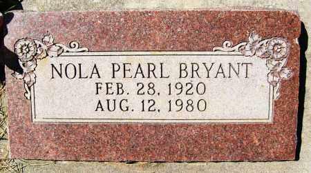 BRYANT, NOLA PEARL - Boulder County, Colorado | NOLA PEARL BRYANT - Colorado Gravestone Photos