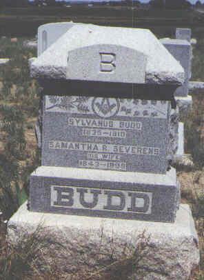 BUDD, SYLVANUS - Boulder County, Colorado | SYLVANUS BUDD - Colorado Gravestone Photos
