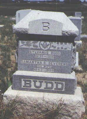 BUDD, SYLVANUS - Boulder County, Colorado | SYLVANUS BUDD - Colorado Gravestone Photos