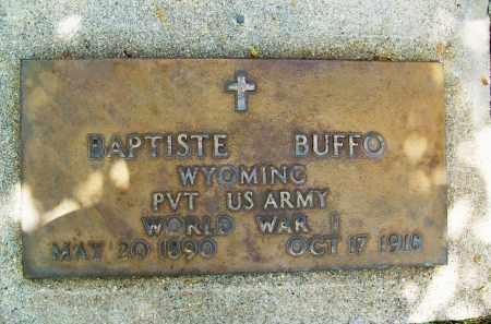 BUFFO, BAPTISTE - Boulder County, Colorado | BAPTISTE BUFFO - Colorado Gravestone Photos