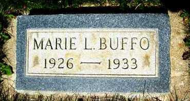 BUFFO, MARIE L. - Boulder County, Colorado   MARIE L. BUFFO - Colorado Gravestone Photos