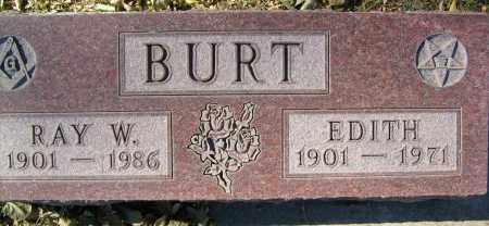 BURT, RAY W. - Boulder County, Colorado | RAY W. BURT - Colorado Gravestone Photos