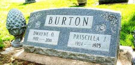 BURTON, PRISCILLA J. - Boulder County, Colorado | PRISCILLA J. BURTON - Colorado Gravestone Photos