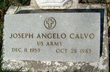 CALVO, JOSEPH ANGELO - Boulder County, Colorado | JOSEPH ANGELO CALVO - Colorado Gravestone Photos