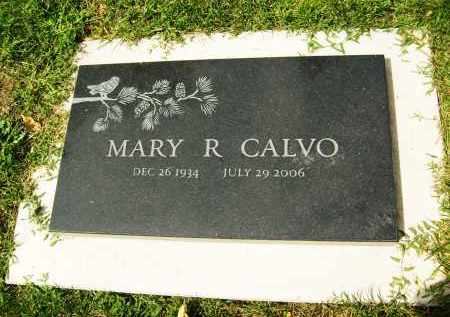 CALVO, MARY R. - Boulder County, Colorado | MARY R. CALVO - Colorado Gravestone Photos