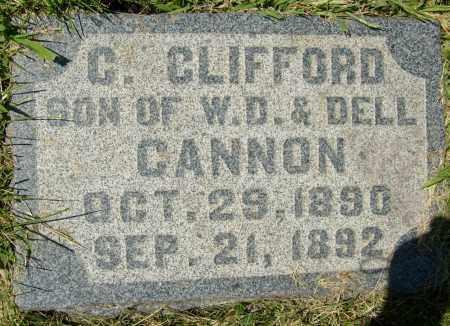 CANNON, C. CLIFFORD - Boulder County, Colorado | C. CLIFFORD CANNON - Colorado Gravestone Photos