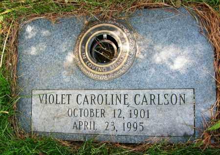 CARLSON, VIOLET CAROLINE - Boulder County, Colorado | VIOLET CAROLINE CARLSON - Colorado Gravestone Photos