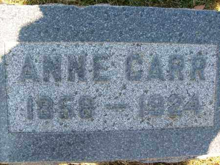 CARR, ANNE - Boulder County, Colorado | ANNE CARR - Colorado Gravestone Photos