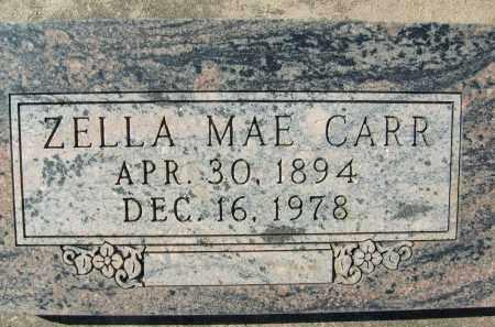 CARR, ZELLA MAE - Boulder County, Colorado | ZELLA MAE CARR - Colorado Gravestone Photos