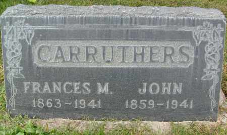 CARRUTHERS, JOHN - Boulder County, Colorado | JOHN CARRUTHERS - Colorado Gravestone Photos