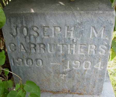 CARRUTHERS, JOSEPH M. - Boulder County, Colorado | JOSEPH M. CARRUTHERS - Colorado Gravestone Photos