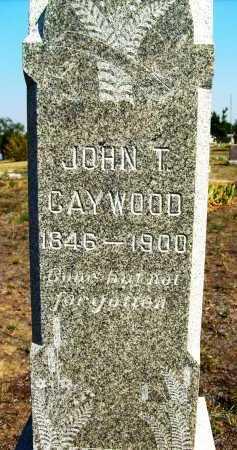 CAYWOOD, JOHN T. - Boulder County, Colorado | JOHN T. CAYWOOD - Colorado Gravestone Photos