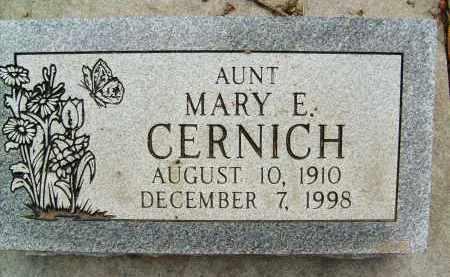 CERNICH, MARY E. - Boulder County, Colorado   MARY E. CERNICH - Colorado Gravestone Photos