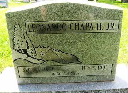 CHAPA, LEONARDO, JR. - Boulder County, Colorado | LEONARDO, JR. CHAPA - Colorado Gravestone Photos