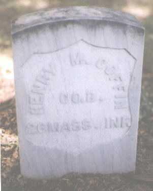 COFFIN, HENRY M. - Boulder County, Colorado   HENRY M. COFFIN - Colorado Gravestone Photos