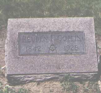 COFFIN, REUBEN - Boulder County, Colorado | REUBEN COFFIN - Colorado Gravestone Photos