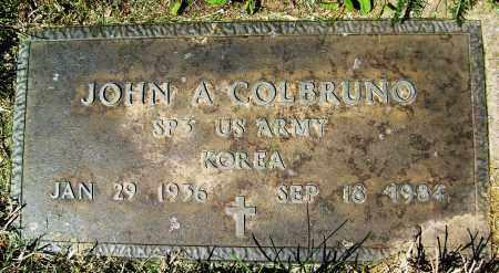 COLBRUNO, JOHN A. - Boulder County, Colorado | JOHN A. COLBRUNO - Colorado Gravestone Photos