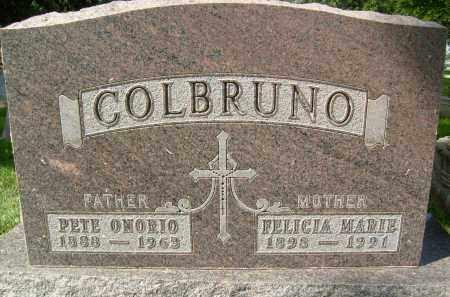 COLBRUNO, FELICIA MARIE - Boulder County, Colorado | FELICIA MARIE COLBRUNO - Colorado Gravestone Photos