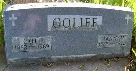 COLIFF, COLI - Boulder County, Colorado | COLI COLIFF - Colorado Gravestone Photos