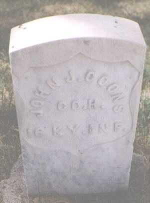 COONS, JOHN J. - Boulder County, Colorado   JOHN J. COONS - Colorado Gravestone Photos