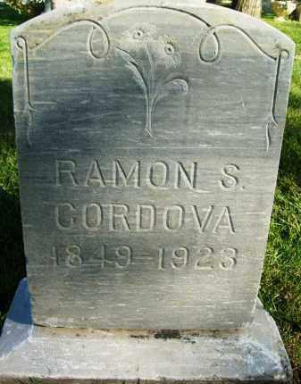 CORDOVA, RAMON S. - Boulder County, Colorado   RAMON S. CORDOVA - Colorado Gravestone Photos