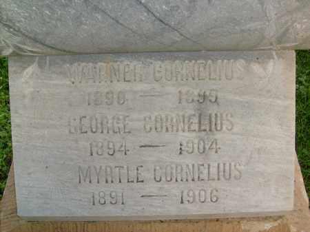 CORNELIUS, WARNER - Boulder County, Colorado   WARNER CORNELIUS - Colorado Gravestone Photos