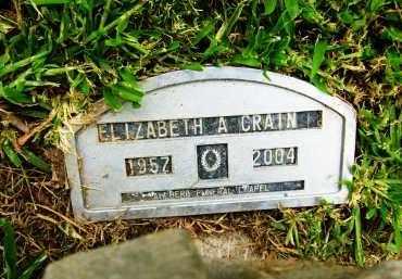 CRAIN, ELIZABETH A. - Boulder County, Colorado | ELIZABETH A. CRAIN - Colorado Gravestone Photos