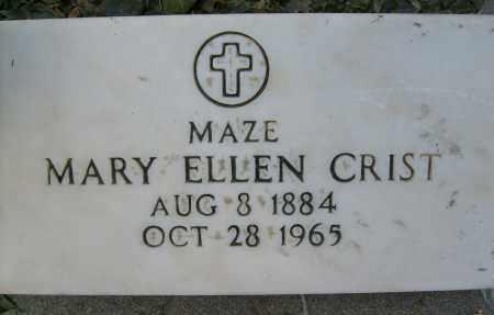 CRIST, MARY ELLEN - Boulder County, Colorado | MARY ELLEN CRIST - Colorado Gravestone Photos