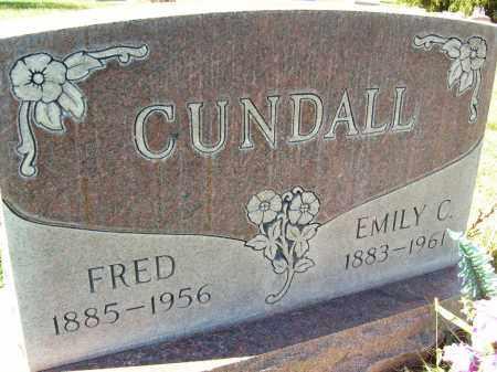 CUNDALL, FRED - Boulder County, Colorado | FRED CUNDALL - Colorado Gravestone Photos