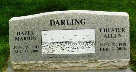DARLING, CHESTER ALLEN - Boulder County, Colorado   CHESTER ALLEN DARLING - Colorado Gravestone Photos