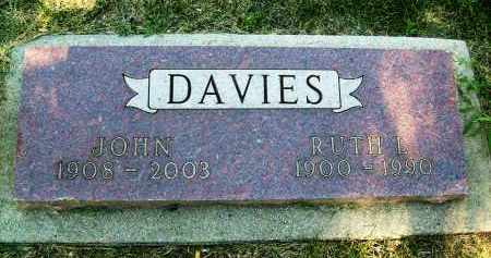 DAVIES, JOHN - Boulder County, Colorado   JOHN DAVIES - Colorado Gravestone Photos