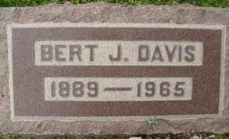 DAVIS, BERT J. - Boulder County, Colorado | BERT J. DAVIS - Colorado Gravestone Photos