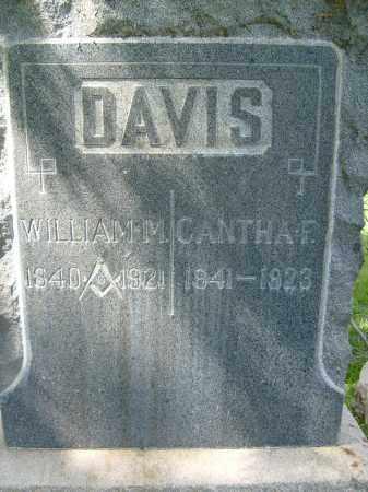 DAVIS, CANTHA F. - Boulder County, Colorado | CANTHA F. DAVIS - Colorado Gravestone Photos