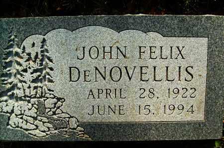 DE NOVELLIS, JOHN FELIX - Boulder County, Colorado   JOHN FELIX DE NOVELLIS - Colorado Gravestone Photos