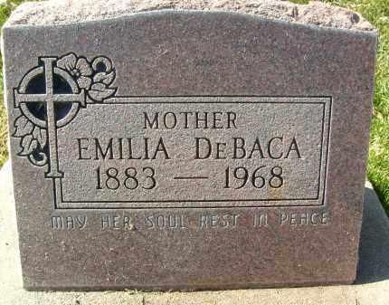DEBACA, EMILIA - Boulder County, Colorado | EMILIA DEBACA - Colorado Gravestone Photos