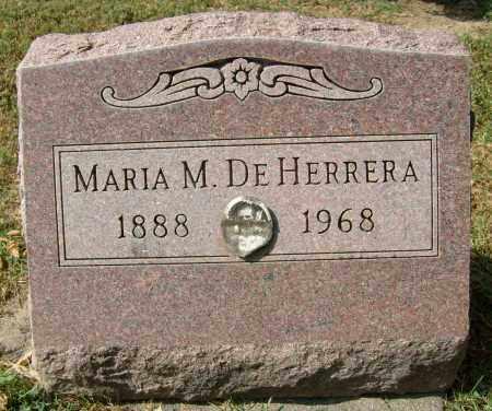 DEHERRERA, MARIA M. - Boulder County, Colorado   MARIA M. DEHERRERA - Colorado Gravestone Photos