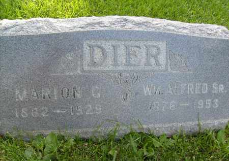 DIER, WM. ALFRED, SR. - Boulder County, Colorado | WM. ALFRED, SR. DIER - Colorado Gravestone Photos