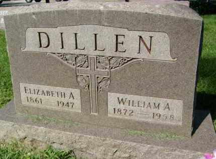 DILLEN, WILLIAM A. - Boulder County, Colorado | WILLIAM A. DILLEN - Colorado Gravestone Photos