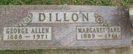 DILLON, GEORGE ALLEN - Boulder County, Colorado | GEORGE ALLEN DILLON - Colorado Gravestone Photos