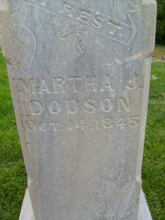DODSON, MARTHA J. - Boulder County, Colorado | MARTHA J. DODSON - Colorado Gravestone Photos